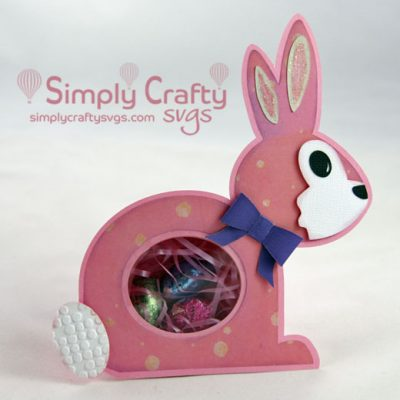 Easter Bunny Candy Box SVG File