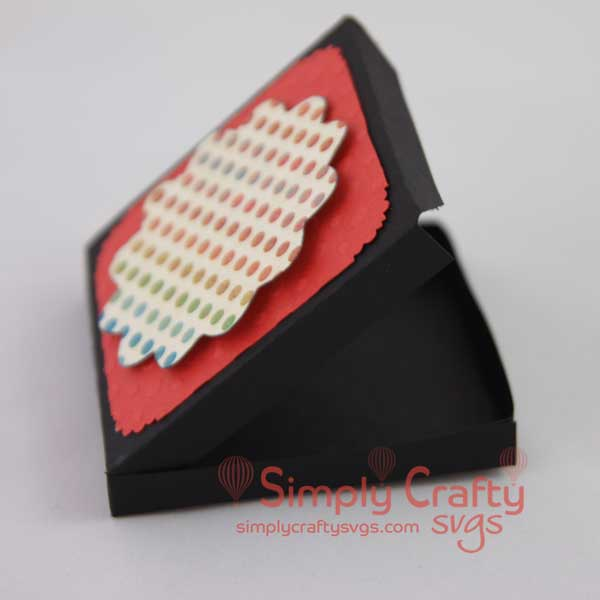 Free SVG Pizza Box Gift Card Holder