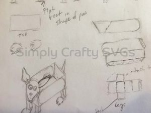 Dog Box Sketch