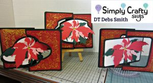 Christmas Swing Card Set by DT Debs