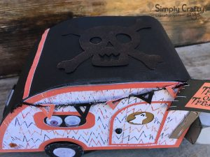 Halloween Teardrop Trailer