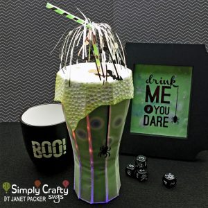 Gruesome Brew Luminary by DT Janet