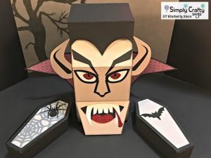Dracula and Coffin Boxes by DT Kimberly
