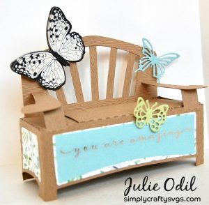 Garden Bench by DT Julie