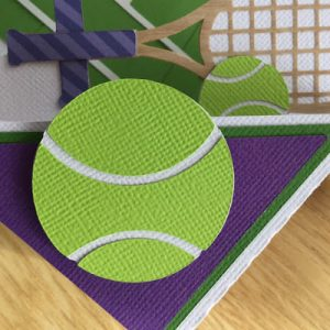 Tennis Card by DT Janet