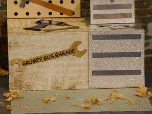 Garage Workshop Card by DT Jana