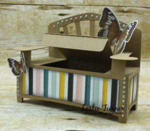 Garden Bench Gift Box by DT Leslie