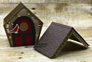 Christmas Birdhouse by DT Leslie