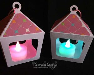 Mini Hanging Lantern SVG File