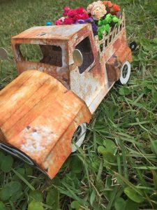 Rusty Pickup Truck by DT Dri