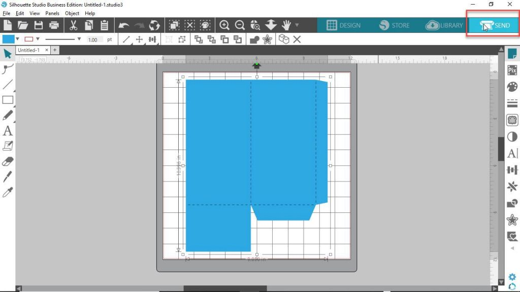 Silhouette Studio 4 DE How to Cut and Score SVG File