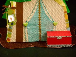 Tent Camping Box by DT Jana