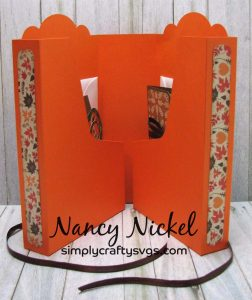 Fall Cards with Folding Greeting Card Holder by DT Nancy