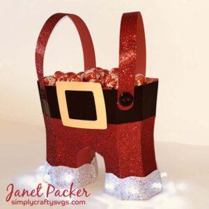 Light Up Santa's Pants by DT Janet