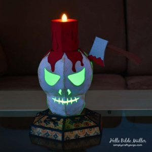 Luminary Skull by DT Helle