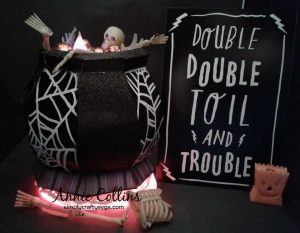 Witch's Cauldron by DT Annie