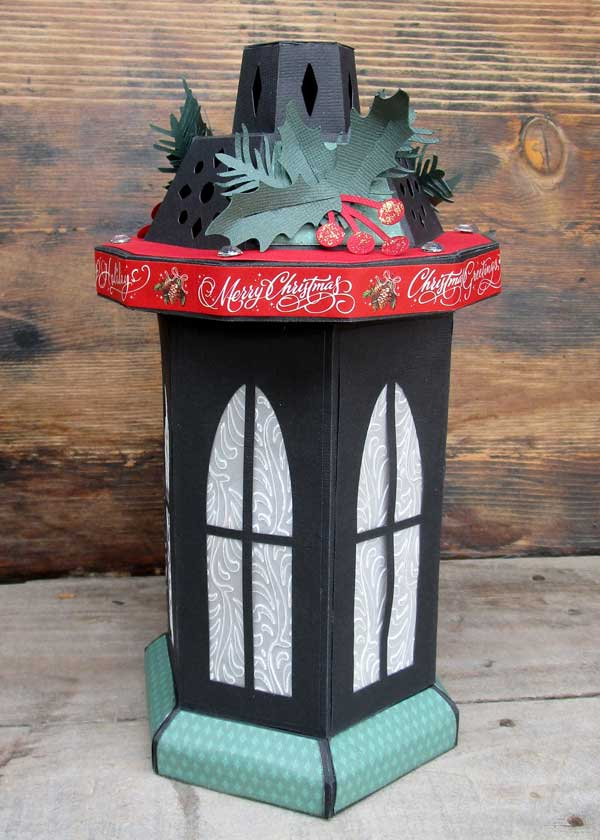 Tall Window Lantern Christmas Version Simply Crafty Svgs