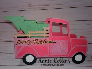 Christmas Tree Delivery Card by DT Annie