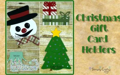 Christmas Gift Card Holders by DT Leslie