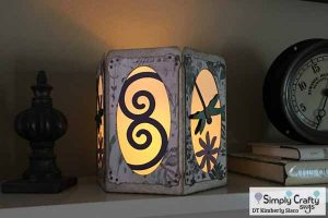 Dragonfly Tealight Holder by DT Kimberly